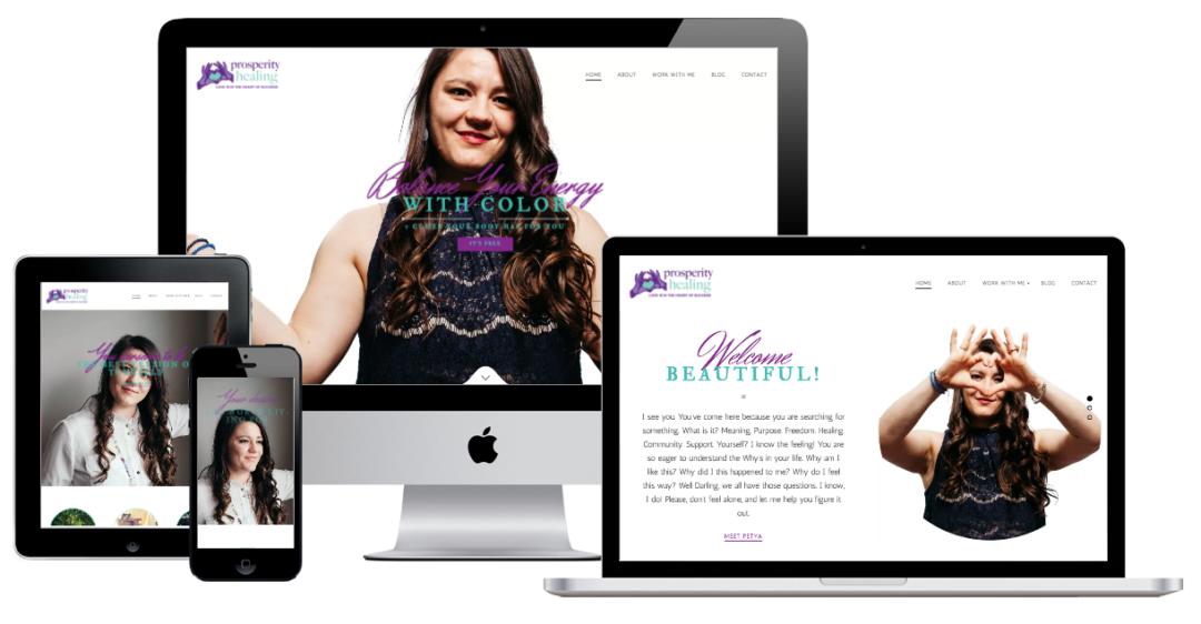 Prosperity Healing – Website